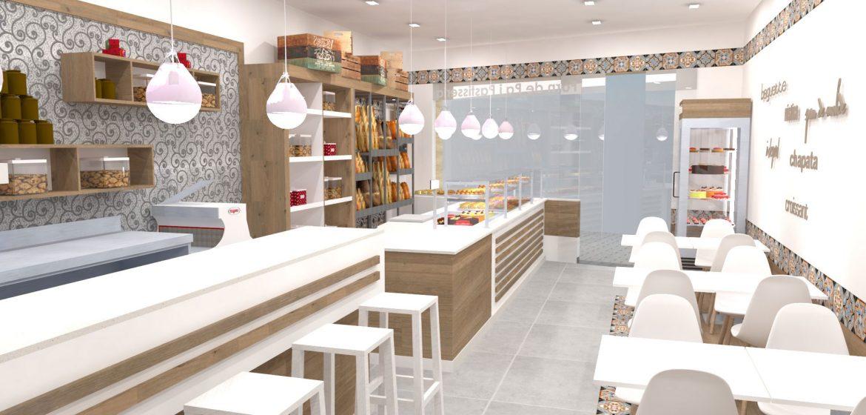 Decoración De Locales Comerciales Panaderías Pastelerías